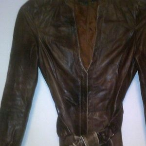 Ladies Fashion Jacket with Belt ** Make An Offer**